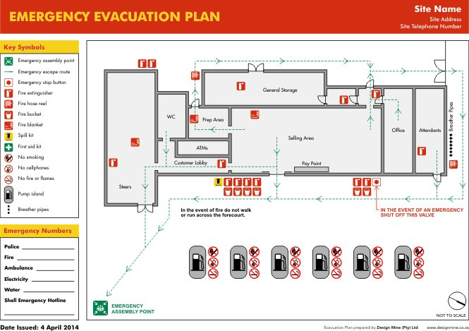 Design Mine Evacuation Plan 1