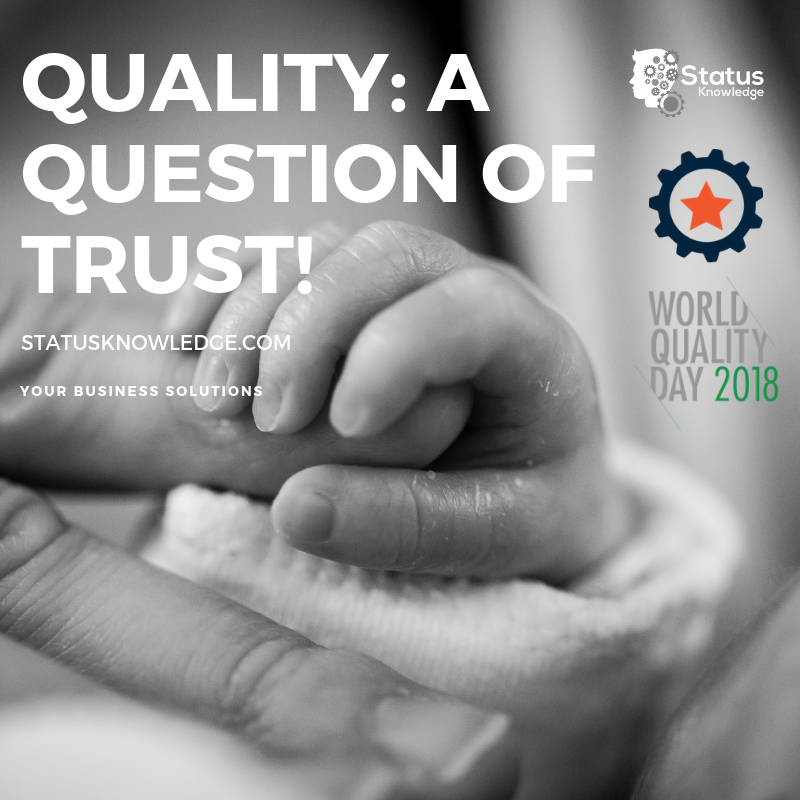 Quality A question of trust