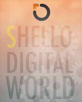 SHELLO DIGITAL WORLD Logo